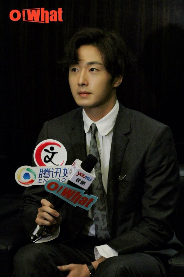 2015 10 Jung Il-woo in the Press Conference of Beautiful Woman : Beauty Dream. Interview. 5