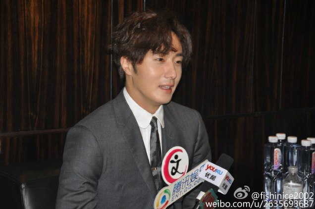 2015 10 Jung Il-woo in the Press Conference of Beautiful Woman : Beauty Dream. Interview. 9