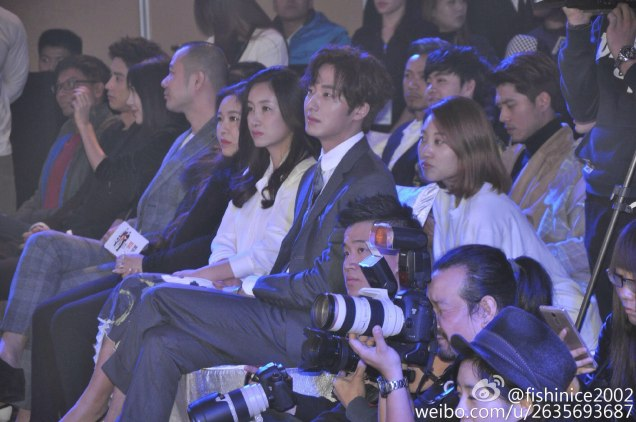 2015 10 Jung Il-woo in the Press Conference of Beautiful Woman : Beauty Dream. Seating. 2.jpg