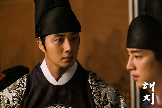 2019 3 26 Jung Il-woo in Haechi Episode 14(27,28) Website & Behnd the Scenes. Cr. SBS 1
