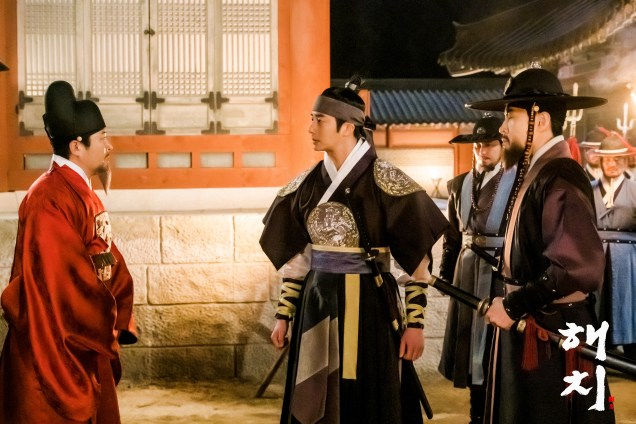 2019 4 1 Jung Il-woo in Haechi Episode 15(29,30) Website Photos and Behind the Scenes. Cr. SBS 2
