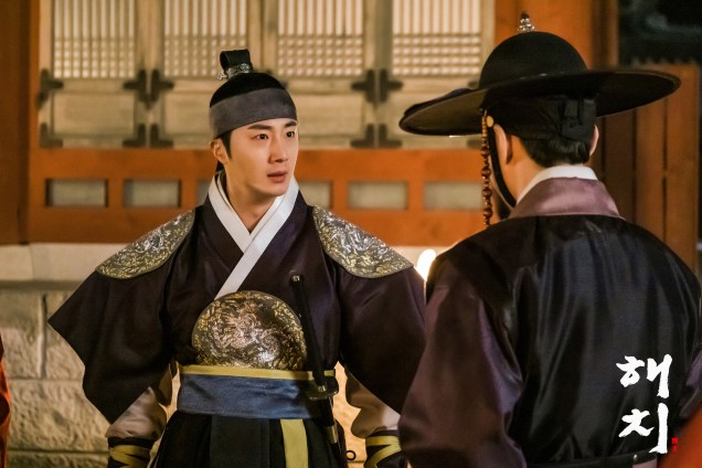 2019 4 1 Jung Il-woo in Haechi Episode 15(29,30) Website Photos and Behind the Scenes. Cr. SBS 3