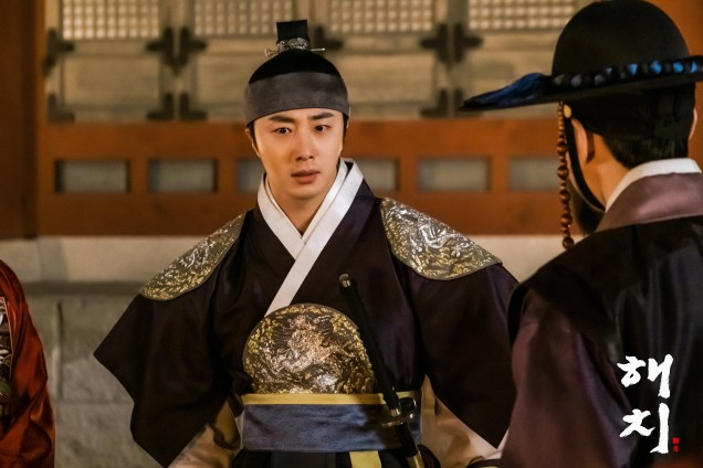 2019 4 1 Jung Il-woo in Haechi Episode 15(29,30) Website Photos and Behind the Scenes. Cr. SBS 5