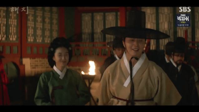 2019 4 2 Jung Il-woo in Haechi Episode 16 (31-32) Cr. SBS 46