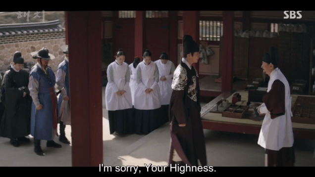 2019 4 2 Jung Il-woo in Haechi Episode 16 (31-32) Cr. SBS 86