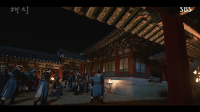 2019 4 2 Jung Il-woo in Haechi Episode 16 (31-32) Cr. SBS 9