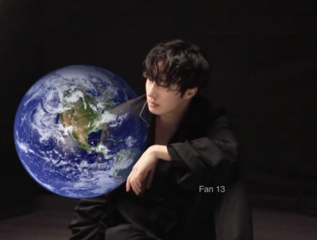 Jung Il-woo and Planet Earth. Edited by Fan 13 for Earth Day 2019. 2
