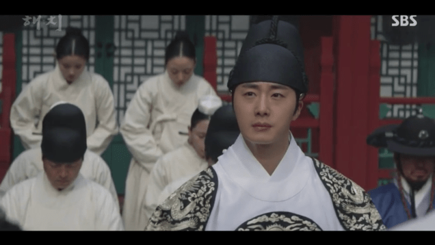 Jung Il-woo in Haechi Episode 18 (35-36) Cr. SBS. 30