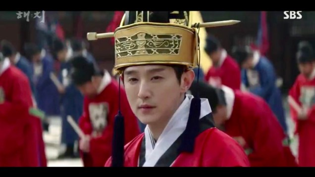 Jung Il-woo in Haechi Episode 18 (35-36) Cr. SBS. 46