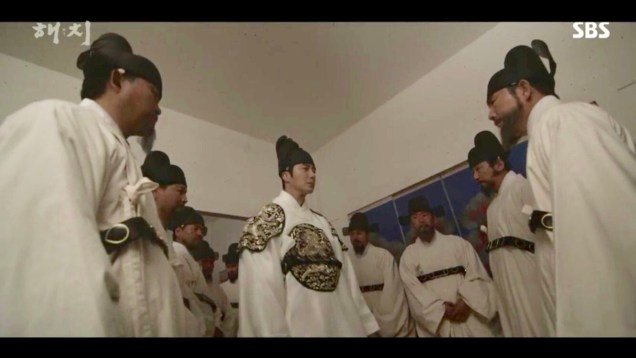 Jung Il-woo in Haechi Episode 18 (35-36) Cr. SBS. 5