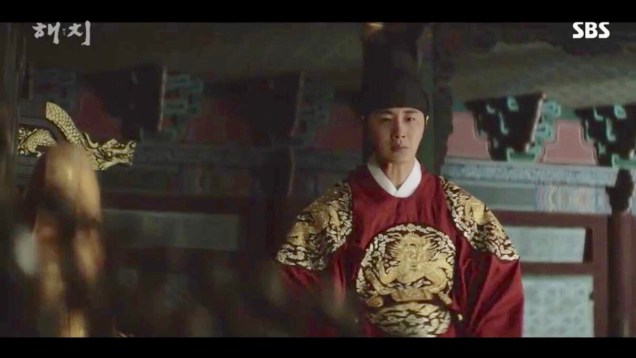 Jung Il-woo in Haechi Episode 18 (35-36) Cr. SBS. 76