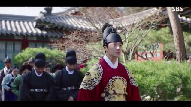 Jung Il-woo in Haechi Episode 18 (35-36) Cr. SBS. 93