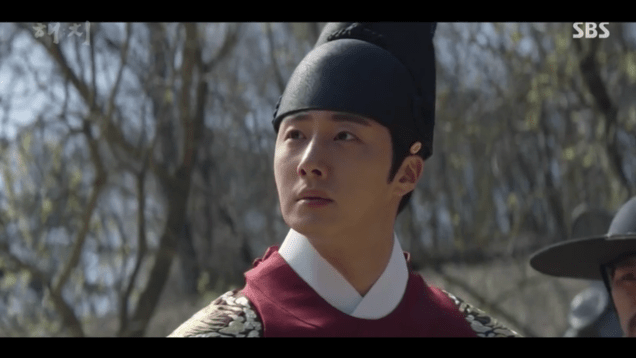 Jung Il-woo in Haechi Episode 18 (35-36) Cr. SBS. 97