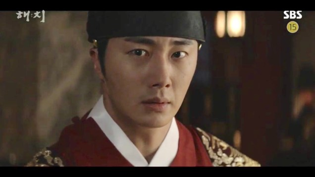 Jung Il-woo in Haechi Episode 19 (37-38) Cr. SBS. 33