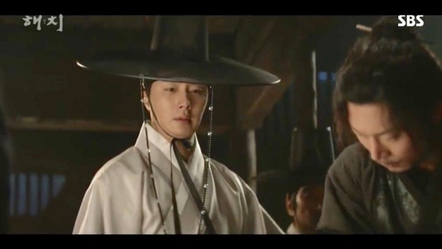 Jung Il-woo in Haechi Episode 19 (37-38) Cr. SBS. 35