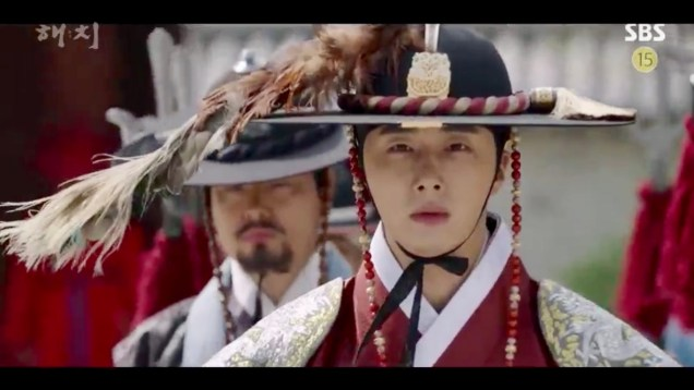 Jung Il-woo in Haechi Episode 19 (37-38) Cr. SBS. 52