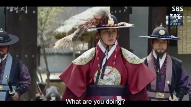 Jung Il-woo in Haechi Episode 19 (37-38) Cr. SBS. 55