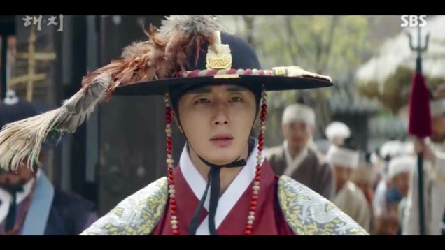 Jung Il-woo in Haechi Episode 19 (37-38) Cr. SBS. 59