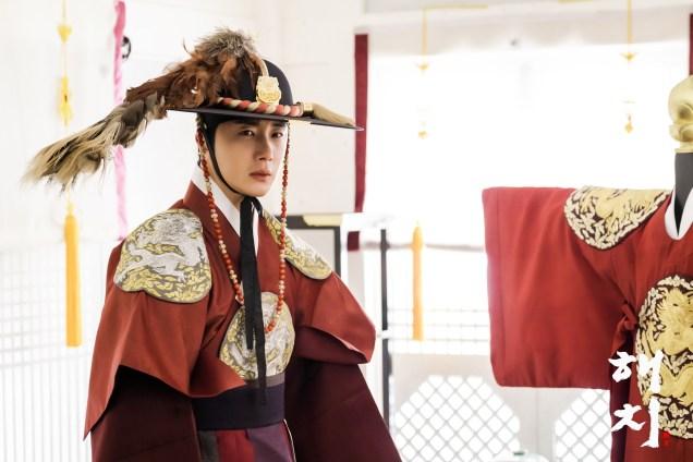 Jung Il-woo in Haechi Episode 19 (37-38) Website & BTS Photos. Cr. SBS. 2