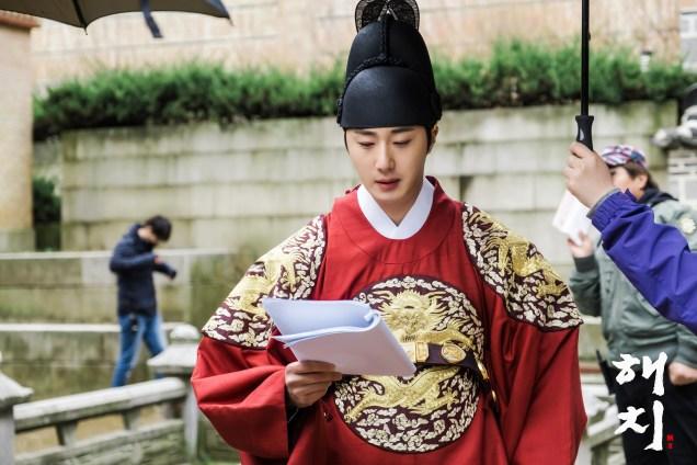 Jung Il-woo in Haechi Episode 19 (37-38) Website & BTS Photos. Cr. SBS. 8