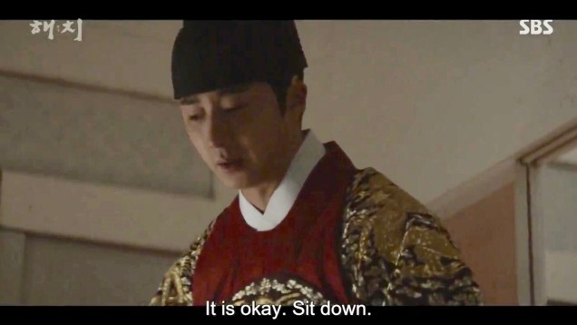 Jung Il-woo in Haechi Episode 20 (39-40) Cr. SBS 10