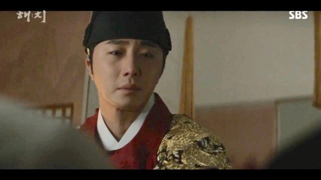 Jung Il-woo in Haechi Episode 20 (39-40) Cr. SBS 16
