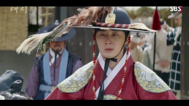 Jung Il-woo in Haechi Episode 20 (39-40) Cr. SBS 19