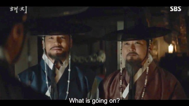 Jung Il-woo in Haechi Episode 20 (39-40) Cr. SBS 20