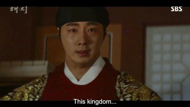 Jung Il-woo in Haechi Episode 20 (39-40) Cr. SBS 84