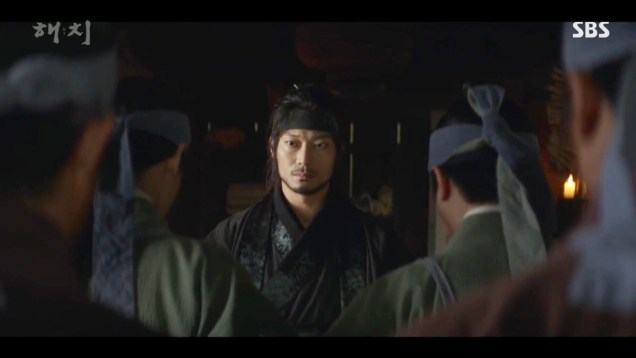 Jung Il-woo in Haechi Episode 21 (41-42) Cr. SBS. 18