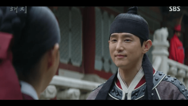 Jung Il-woo in Haechi Episode 21 (41-42) Cr. SBS. 19