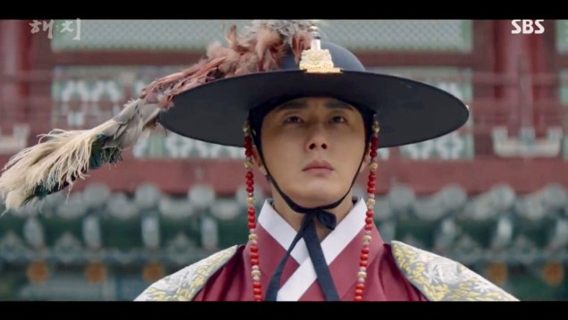Jung Il-woo in Haechi Episode 21 (41-42) Cr. SBS. 27