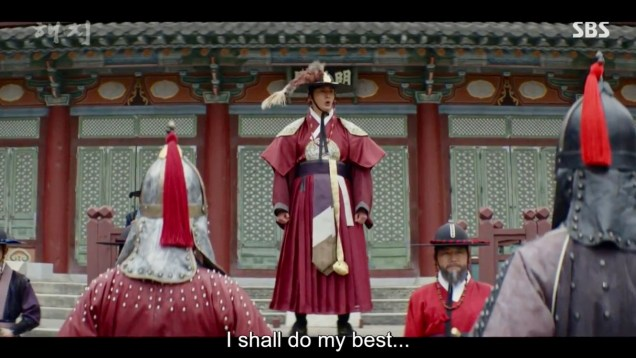 Jung Il-woo in Haechi Episode 21 (41-42) Cr. SBS. 33