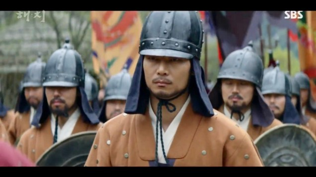 Jung Il-woo in Haechi Episode 21 (41-42) Cr. SBS. 36