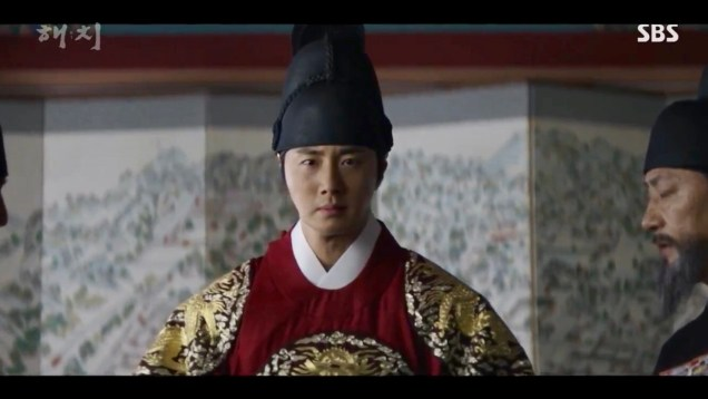 Jung Il-woo in Haechi Episode 21 (41-42) Cr. SBS. 5