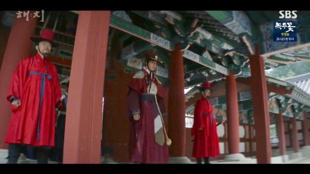 Jung Il-woo in Haechi Episode 21 (41-42) Cr. SBS. 56