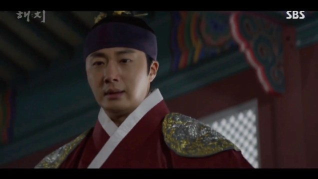 Jung Il-woo in Haechi Episode 21 (41-42) Cr. SBS. 92