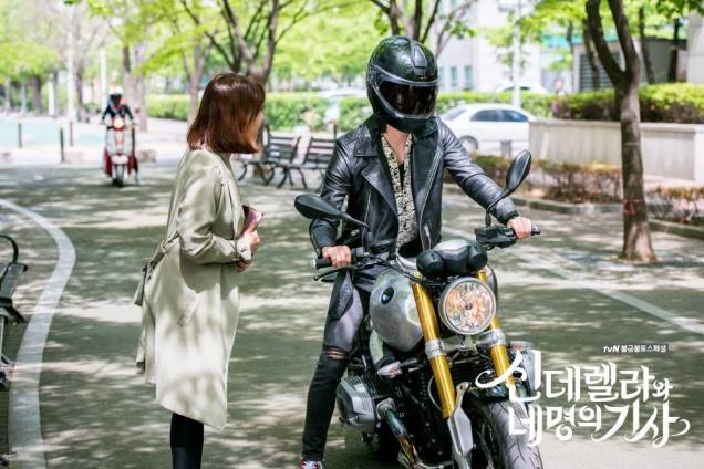 2016 Jung Il-woo in Cinderella and the Four Knights. Behind the Scenes. Extras. Cr. tvN 8
