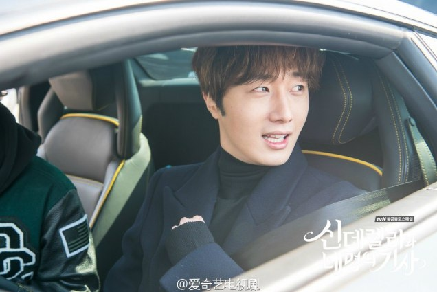 2016 Jung Il-woo in Cinderella and the Four Knights. Behind the Scenes. Fans. Car take. Cr. tvN
