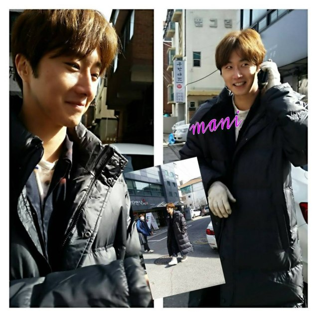 2016 Jung Il-woo in Cinderella and the Four Knights. Behind the Scenes. Fans. Cr. tvN 15