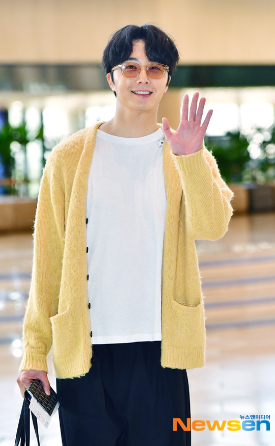 2019 5 21 Jung Il-woo departs to Japan for Fan Meetings. 7