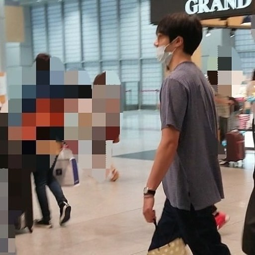 2019 5 25 Jung Il-woo arrives at Osaka. 2