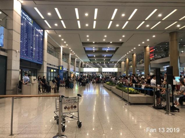 2019 6 Arrival to Seoul, South Korea by Fan 13. 13