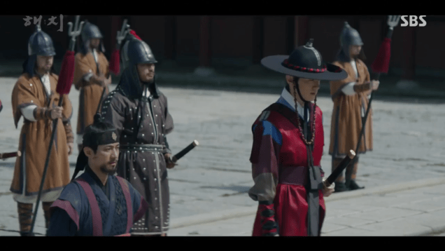 Jung Il-woo in Haechi Episode 22 (43-44) Cr. SBS 126