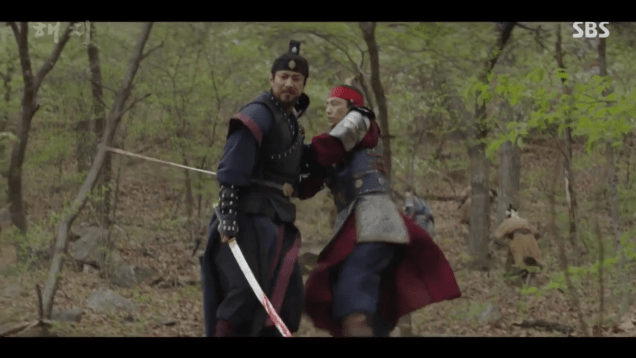 Jung Il-woo in Haechi Episode 22 (43-44) Cr. SBS 3