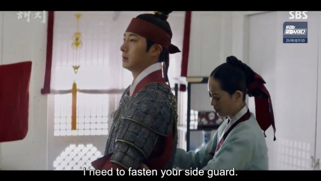 Jung Il-woo in Haechi Episode 22 (43-44) Cr. SBS 40