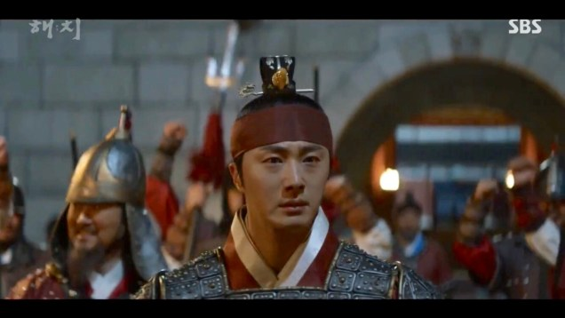 Jung Il-woo in Haechi Episode 22 (43-44) Cr. SBS 75