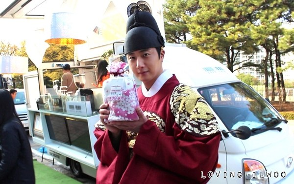 Jung Il-woo in Haechi Episode 24. Behind the Scenes. 2