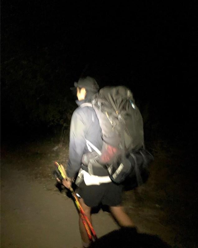Jung Il-woo walking El Camino de Santiago. May 2019 24