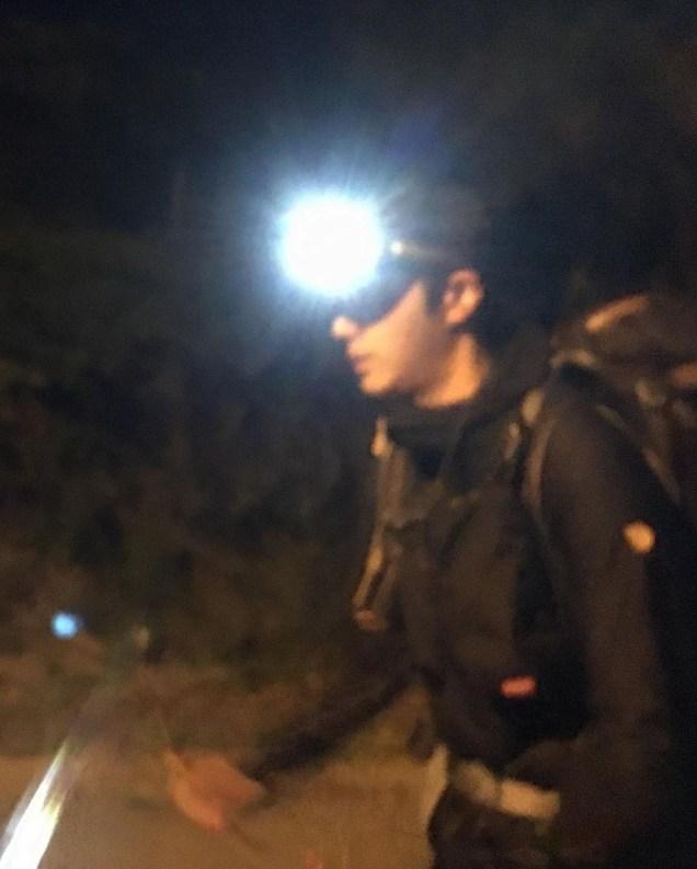 Jung Il-woo walking El Camino de Santiago. May 2019 25